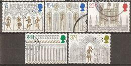 Grande-Bretagne Great Britain 1989 Noel Christmas Complete Set Obl - Used Stamps