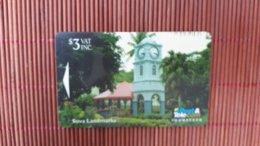 PHONECARD FIJI   CONTROL 11FJB USED RARE - Fidji