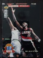NBA - UPPER DECK 1997 - BLAZER - CLYDE DREXLER - TIP OFFS - Singles (Simples)