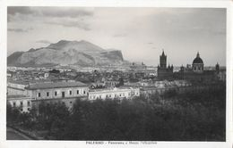 Palermo. Panorama E Monte Pellegrino. Non Viaggiata, Originale - Palermo