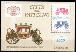 V+ Vatikan 1985 Mi Bl. 8 -880-81 C ITALIA '85 GH - Neufs