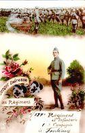 CARTE 1920 / 137 Ième Régiment D'infanterie , 1 ère Compagnie à Fontenay Le Comte - Fontenay Le Comte