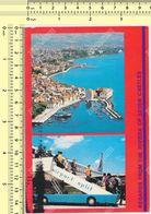 1987 SPLIT AIRPORT Hrvatska Yugoslavia Croatia Old Postcard - Croatia