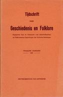 TIJDSCHRIFT VOOR GESCHIEDENIS EN FOLKLORE - 1949 HEREN EN HEERLIJKHEID VAN HEMIKSEM - 50 BLZ ARTIKEL - Bücher, Zeitschriften, Comics