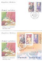 1996. Moldova, Europa 1996, 2 FDC, Mint/** - Moldavie