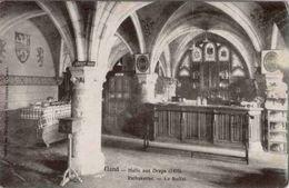 GAND-GENT - Halle Aux Draps - Le Buffet - Oblitération De 1908 - Gent