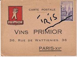 CPAG - CARTE POSTALE VINS PRIMIOR - Comercio