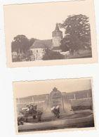 43767 -  Rahier   2  Photos  10 X 7  Et  8,5  X 6  -  église  -  Cimetière  -  Environs De Stoumont - Stoumont