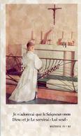Saint-Menet (Francia) - Santino Antico SOUVENIR COMMUNION SOLENNELLE De GUY ET PIERRE CHIQUET 17 5 1961 - OTTIMO P38b- - Religión & Esoterismo