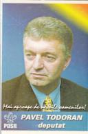 87901- ELECTION CAMPAIGN, REPRESENTATIVE, ADVERTISING, POCKET CALENDAR, 2001, ROMANIA - Small : 2001-...