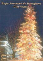 87902- CHRISTMAS TREE, ELECTRIC COMPANY ADVERTISING, POCKET CALENDAR, 2000, ROMANIA - Small : 2001-...
