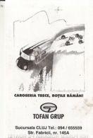 87903- CAR, TYRES COMPANY ADVERTISING, POCKET CALENDAR, 2000, ROMANIA - Small : 2001-...