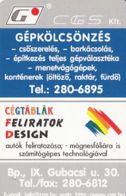 87906- DESIGN COMPANY ADVERTISING, POCKET CALENDAR, 2001, HUNGARY - Small : 2001-...