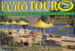 87907- BUSS, TRAVEL AGENCY ADVERTISING, POCKET CALENDAR, 2002, ROMANIA - Small : 2001-...