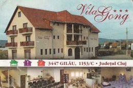 87908- GILAU GONG VILLA ADVERTISING, POCKET CALENDAR, 2003, ROMANIA - Small : 2001-...