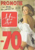 87912- HOUSE OF ART, CLOTHES COMPANY ADVERTISING, POCKET CALENDAR, 2008, ROMANIA - Small : 2001-...