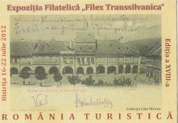 87914- BISTRITA PHILATELIC EXHIBITION, POCKET CALENDAR, 2012, ROMANIA - Small : 2001-...