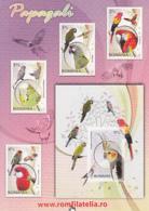 87917- STAMPS, PARROTS, ROMFILATELIA COMPANY ADVERTISING, POCKET CALENDAR, 2012, ROMANIA - Small : 2001-...