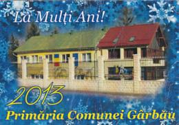 87922- VILLAGE HALL, POCKET CALENDAR, 2013, ROMANIA - Small : 2001-...