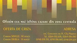 87924-INN ADVERTISING, POCKET CALENDAR, 2013, ROMANIA - Small : 2001-...