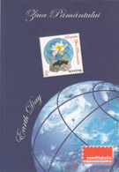 87926- EARTH DAY, STAMP, ROMFILATELIA COMPANY ADVERTISING, POCKET CALENDAR, 2014, ROMANIA - Small : 2001-...