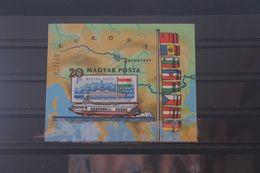 Europäische Donaukommission, Blockausgabe Ungarn 1981, Block 153B, Ungezähnt, Ungebraucht - European Ideas