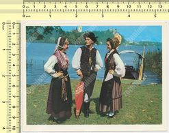 BLED National Costume Narodna Nosnja Slovenia Yugoslavia Old Postcard - Slovénie