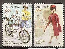 Australia 2009 Classic Toys Barbie Doll Bicycle Obl - 2000-09 Elizabeth II