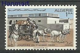 Algeria 1969 Mi 523 MNH ( ZS4 ALG523dav142A ) - Horses