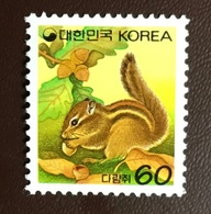 South Korea 1994 Chipmunk Animals MNH - Roditori