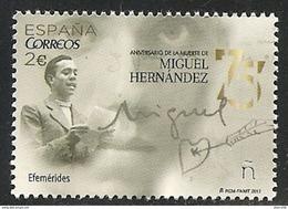 2017-ED. 5163 COMPLETA -Efemérides. 75 Aniversario De La Muerte De Miguel Hernandez -NUEVO - 1931-Oggi: 2. Rep. - ... Juan Carlos I