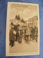 C.P.A.- Albanie - Valona - Santi Quaranta - Prodromi Di Conflitto Incruento Per Un Soldo Italiano - 1917 - SUP - (DD 24) - Albania