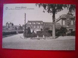 Céroux-mousty . La Maison Everaerts Fres & Et Les écoles . - Ottignies-Louvain-la-Neuve
