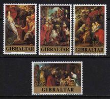 Gibraltar N° 367 / 70  XX Noël Et 400è Anniv. De La Naissance De P. P. Rubens,   Les 4 Valeurs Sans Charnière, TB - Gibraltar