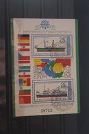 Europäische Donaukommission; Blockausgabe Bulgarien 1981, Block 112, Gebraucht - European Ideas