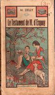 Le Testament De M. D'Erquoy Par M. Delly - Livres, BD, Revues