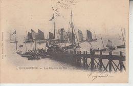 NOIRMOUTIER - Lot De 4 CPA - Régates 1901Chênes Plage Du Sous Bois Tour Plantier - Ile De Noirmoutier