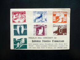 Sette Francobolli Pro Affrancati Russia Meridionale Serie Completa Anni '30 - Stamps