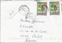 BENIN Enveloppe Avec Timbre N° Y&T 1224  (N°51) - Bénin – Dahomey (1960-...)