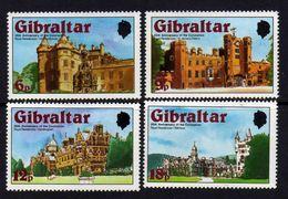 Gibraltar N° 372 / 75 XX  Anniversaire Du Couronnement De S. M. Elisabeth II. Les 4 Valeurs Sans Charnière,  TB - Gibraltar