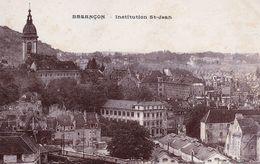 BESANCON - Institution St-Jean. Photo J. Combier. Ecrite. Bon état.       . - Besancon