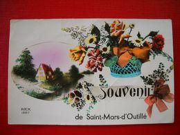 Saint-mars-d'outillé 72 . Souvenir De Saint-mars-d'outillé . - Francia