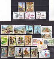 Andorre Espagnol 1977/1979 Années  Complètes 100 123 S Neuf ** MNH Sin Charmela Cote 14.4 - Neufs