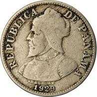 Monnaie, Panama, Balboa, 2-1/2 Centesimos, 1929, TB+, Copper-nickel, KM:8 - Panama