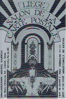 LIEGE 1980 SALON DE LA CARTE POSTALE - SALLE DE L'EMULATION - Organisation : Michel GARWEG - Beursen Voor Verzamellars
