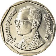 Monnaie, Thaïlande, Rama IX, 5 Baht, 2001, SPL+, Copper-Nickel Clad Copper - Thailand