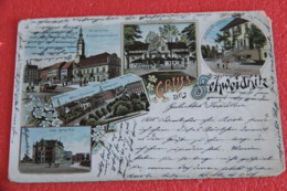 Poland Swidnica Schweidnitz Gruss 1903 - Polonia