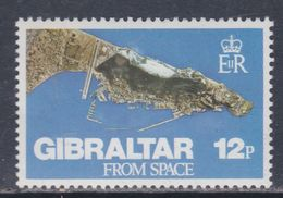 Gibraltar N° 371 XX  Gibraltar, Vue Du Ciel, Sans Charnière,  TB - Gibraltar