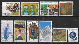 1975-7 Australia Puente-fauna Lagartija Estrella De Mar-navidad 75-sello Sobre Sello 10v. - 1966-79 Elizabeth II