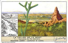 6 Chromos - Liebig - La Vallée De La Mort - S 1424 - Liebig
